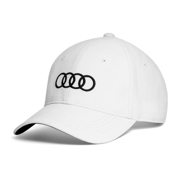 Unisex Baseball cap Audi, biała