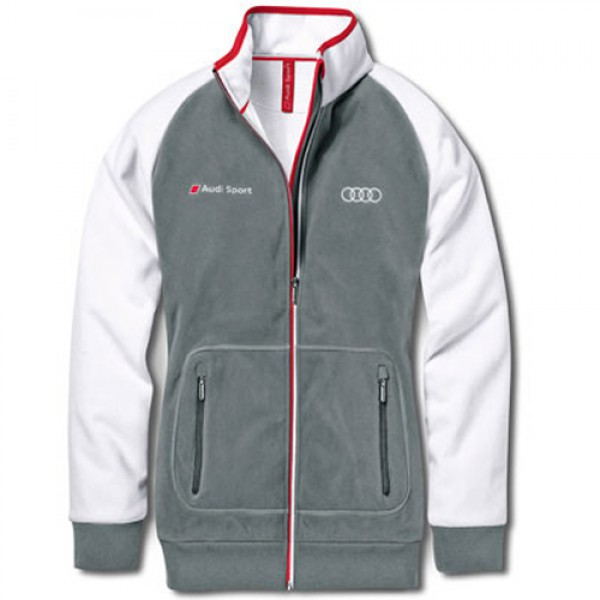 Wiatrówka, damska, XL, Audi Sport, biało szara