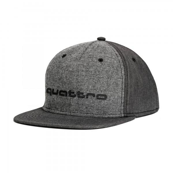 Unisex cap, quattro, grey