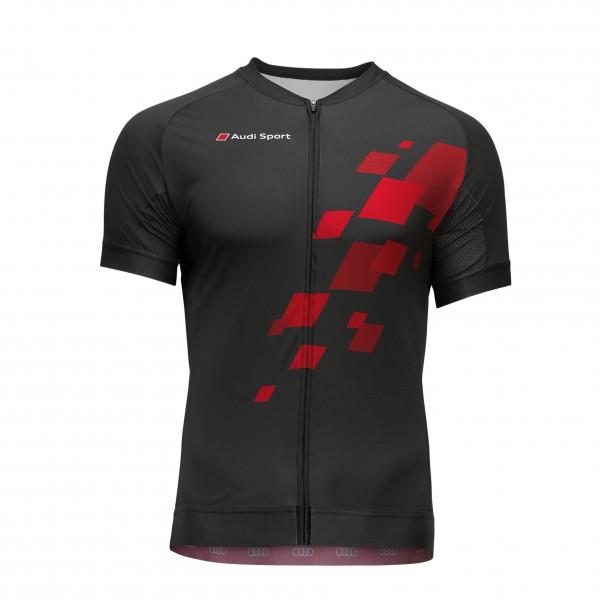 Koszulka rowerowa męska 1/2 Audi Sport