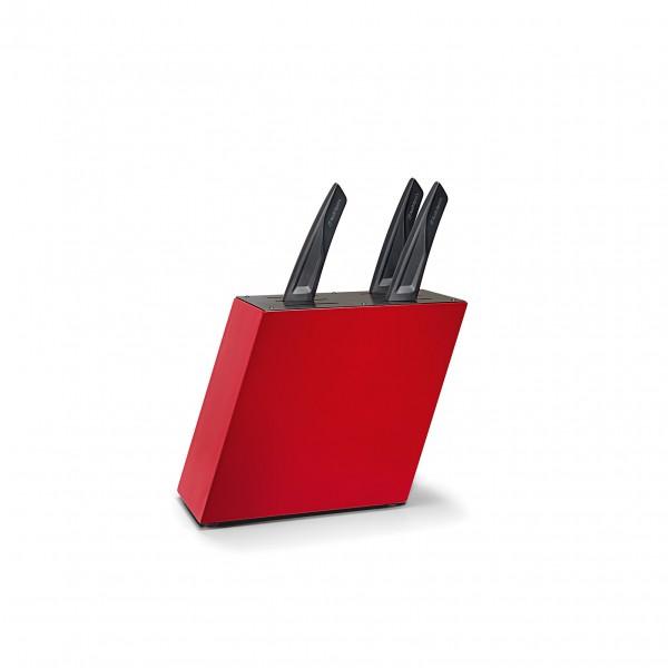 Blok na noże, Audi Sport, czerwony
