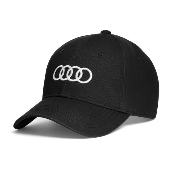 Unisex Baseball cap Audi, czarna