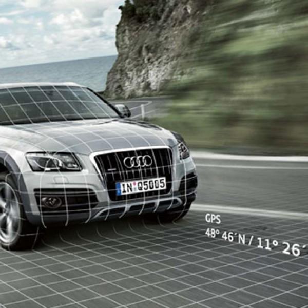 Uchwyt GPS do asystenta lokalizacji Audi