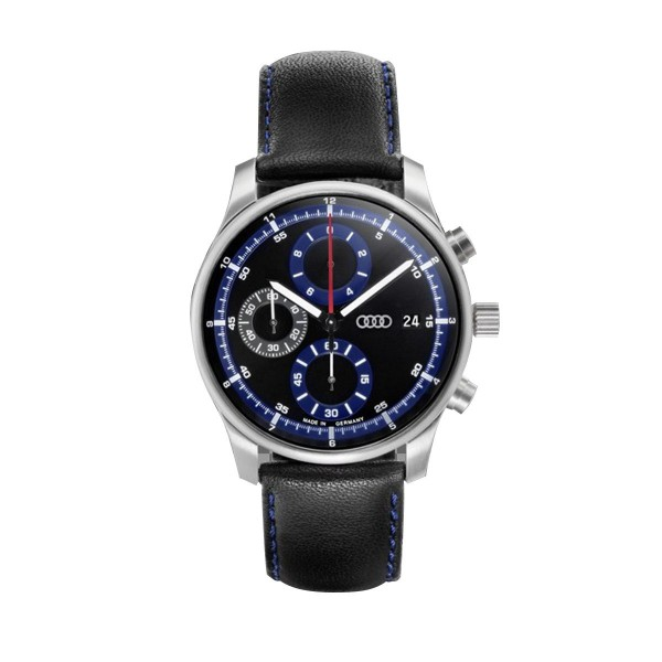 Chronograph Audi czarno/niebieski
