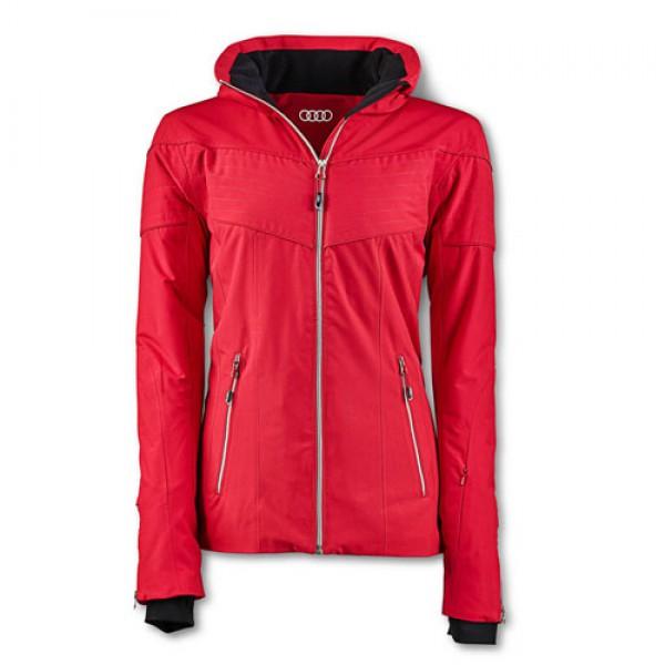 Damska kurtka zimowa Audi, czerwona
