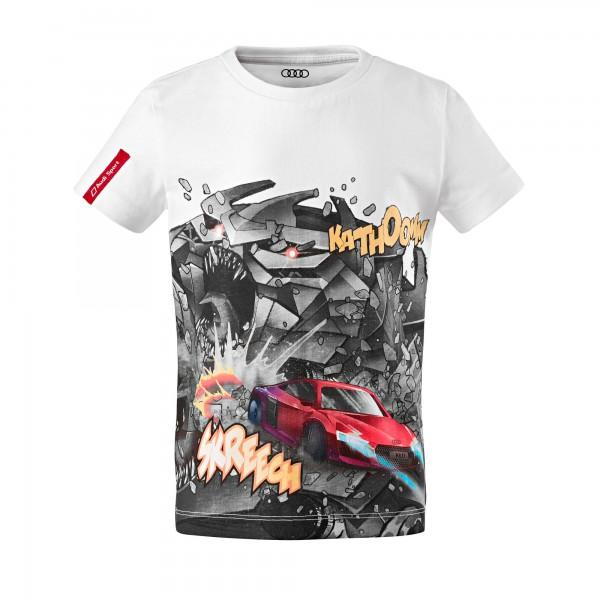 Koszulka dziecięca Audi Sport Komiks
