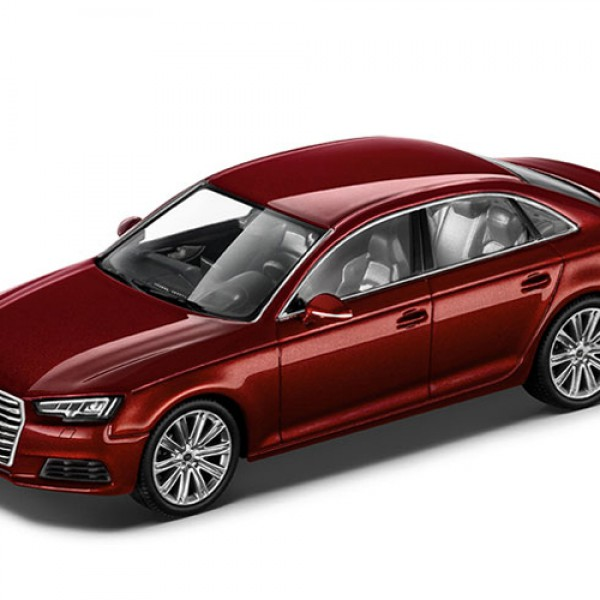 Audi A4, 1:43, Matador czerwony